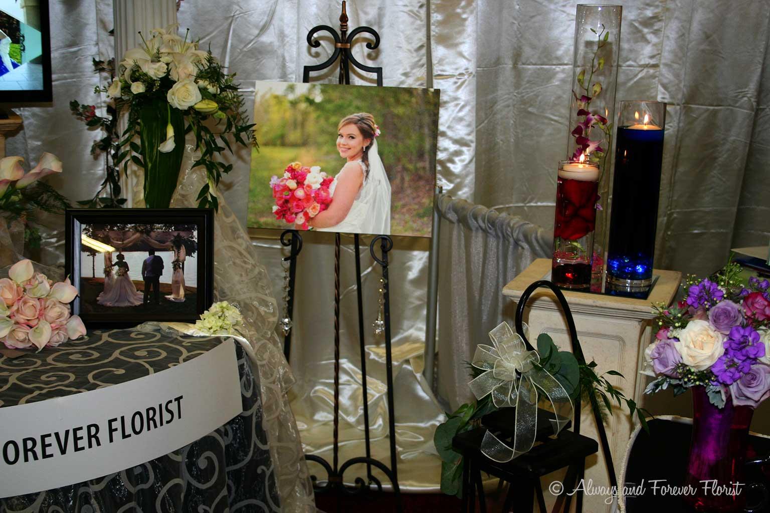 Display Booth At NC Bridal Wedding Show 2016
