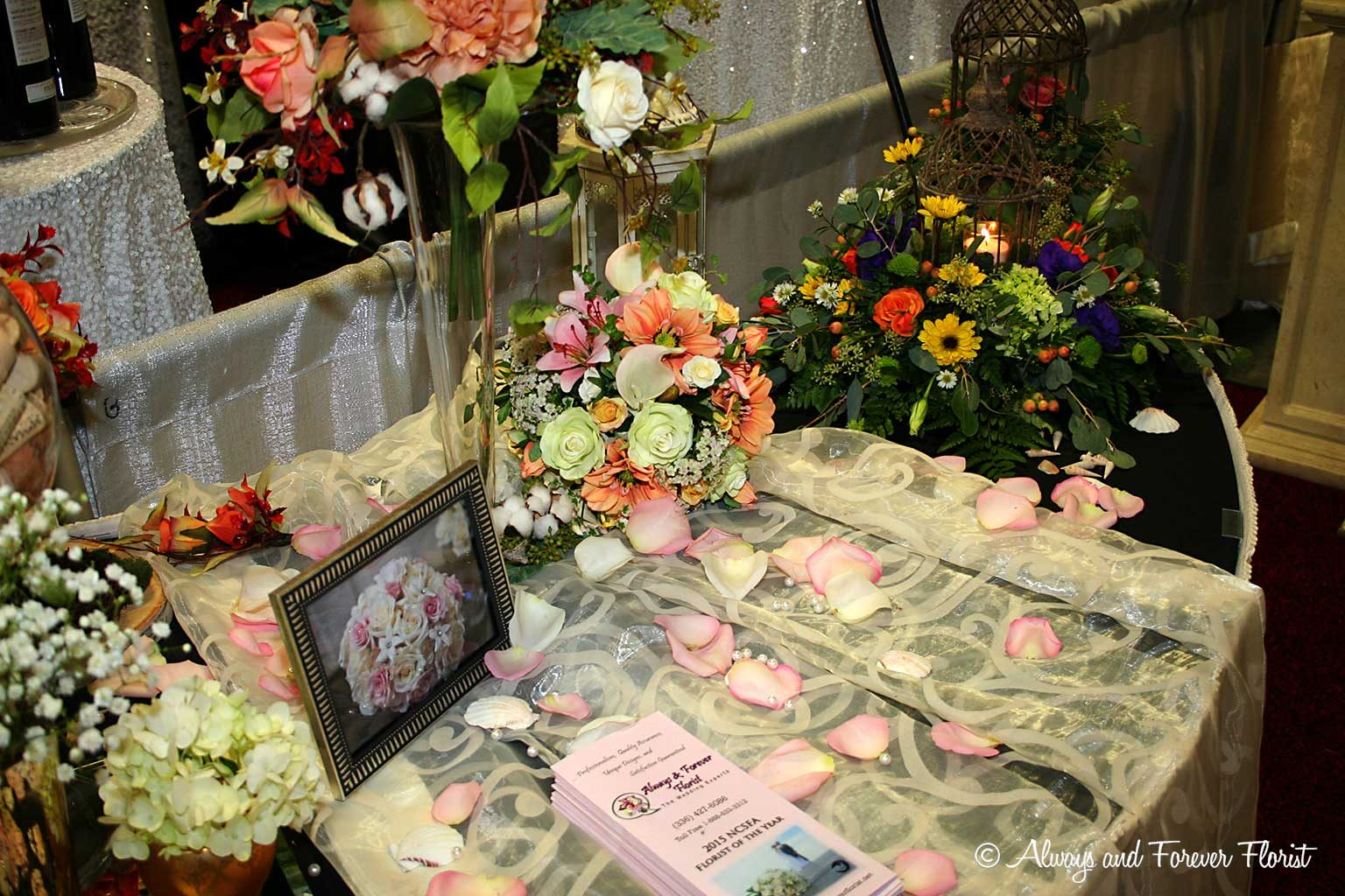Wondrous 2016 Nc Triad Bridal Show Always Forever Florist Home Remodeling Inspirations Cosmcuboardxyz