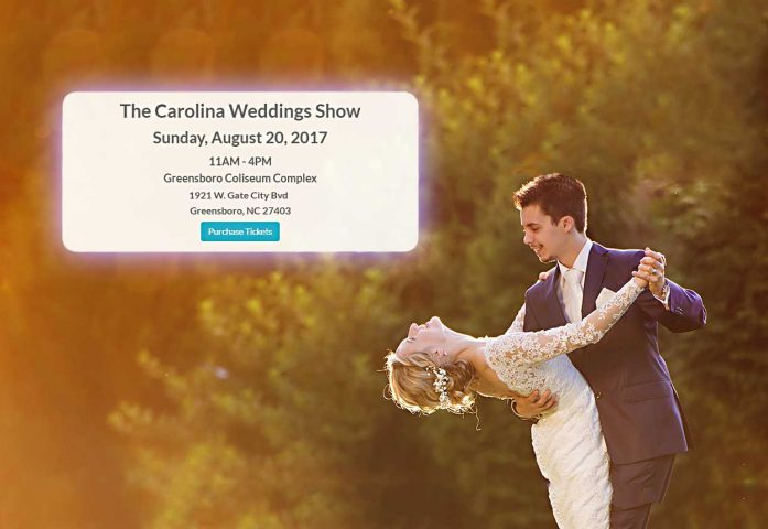 Carolina weddings show bg