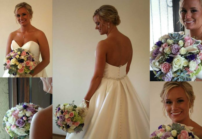 Gorgeous bridal collage